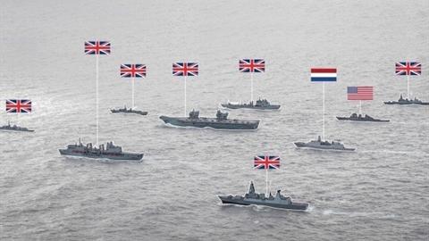 Chiến hạm NATO có F-35 hộ tống hướng đến Crimea, Tartus