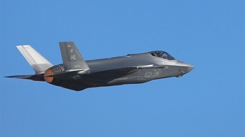 Tiêm kích tàng hình F-35 lại 'sáng rực' trước radar S-400