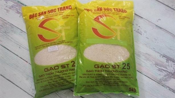 Gạo ST25 bị đăng ký nhãn hiệu tại Úc, VN hành động
