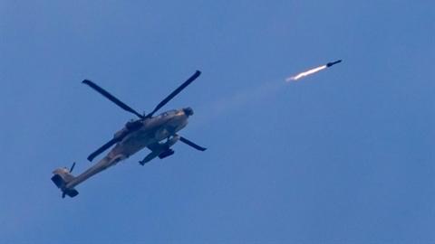 Trực thăng Israel tấn công vào Syria