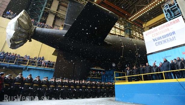 Tàu ngầm hạt nhân hải quân Nga nhận được mạnh cỡ nào?