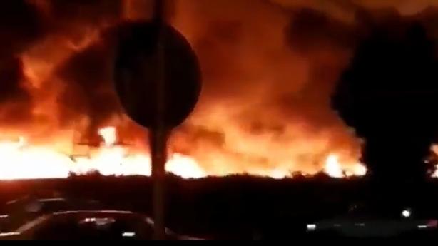 Clip vụ cháy bí ẩn sát nhà máy hạt nhân Bushehr