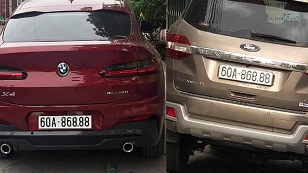 Lại phát hiện xe sang biển giả ở Đồng Nai