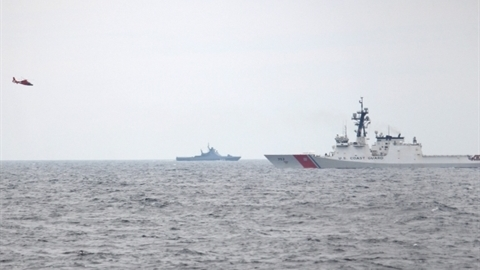 Nga chặn tàu tuần tra Mỹ và Ukraine ngoài khơi Crimea