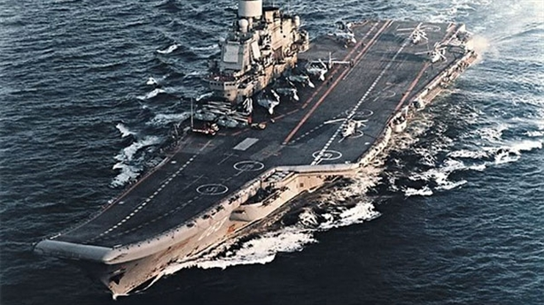 'Đô đốc Kuznetsov' lột xác với hệ thống Rezistor-E mới