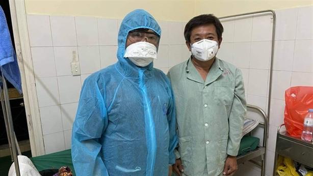 Ông Đoàn Ngọc Hải bị sốt cao: Âm tính SARS-CoV-2