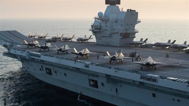 'Sức mạnh quân đội Anh cách cường quốc vài năm ánh sáng'