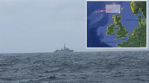 Tàu trinh sát Yuri Ivanov 'xuyên qua' khu diễn tập của NATO
