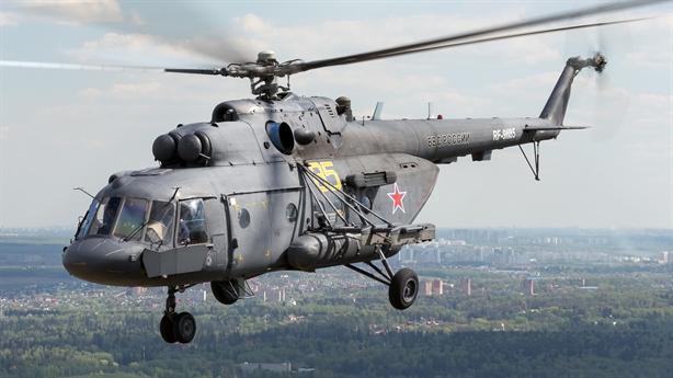 Trực thăng Nga miễn nhiễm trước tên lửa đối phương