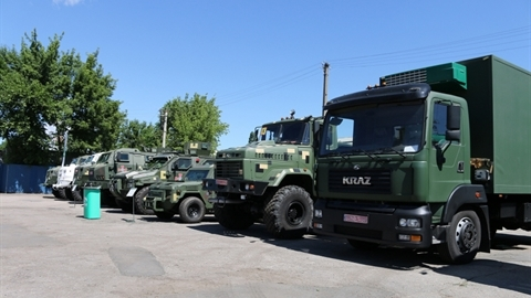 Vì sao Mỹ mua xe tải quân sự giúp Ukraine?