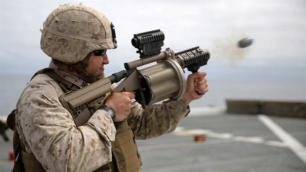 Lựu đạn Mỹ phá hủy mọi hệ thống điện tử