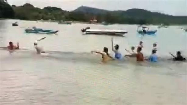 Bảo vệ resort đánh gãy tay 2 người: Bất chấp căn ngăn