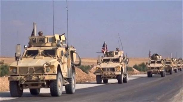 'Hơn 100 phương tiện quân sự Mỹ tràn vào lãnh thổ Syria'