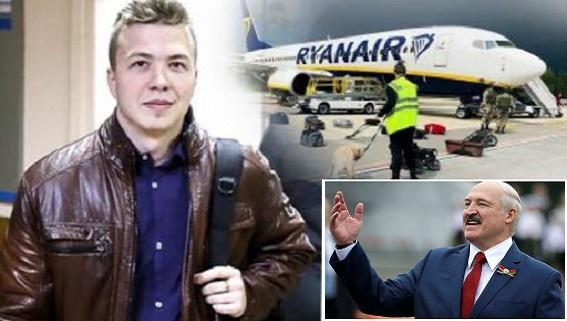 Belarus chặn máy bay Ryanair: EU trừng phạt Nga vì…'bật đèn xanh'?