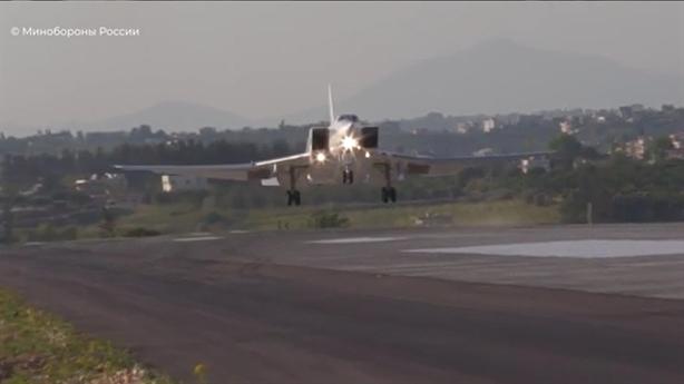 Bộ Quốc phòng Nga: 3 chiếc Tu-22M3 đã đến Hmeymim