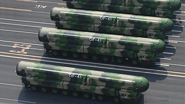 Mỹ khiêu khích: Trung Quốc sẽ tăng kho vũ khí hạt nhân