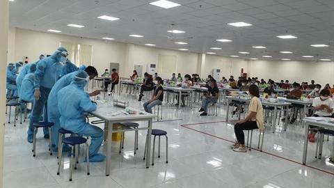 CA thông tin công nhân từ Bắc Giang,Bắc Ninh về Lào Cai
