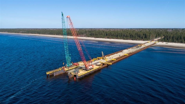 Nga vận hành thử 1 chiều Nord Stream-2