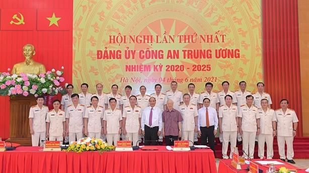 Bộ Chính trị chỉ định nhân sự Đảng ủy Công an TW