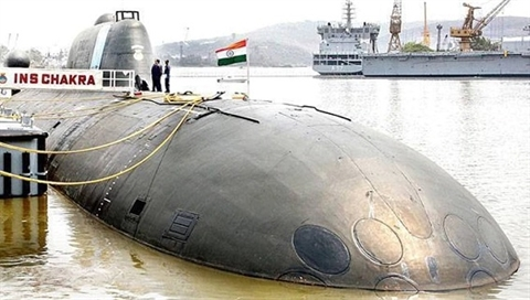 Ấn hết hạn thuê tàu ngầm hạt nhân Nga cực mạnh