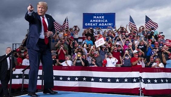 Ông Trump khởi động cuộc chiến trở lại Nhà Trắng