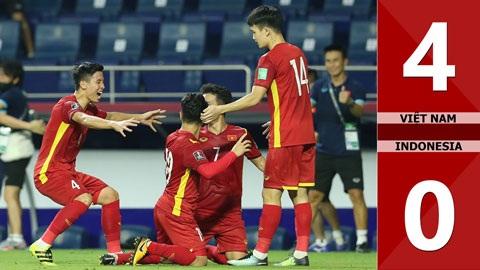 Việt Nam thắng 4-0: HLV Indonesia nhận 'không theo kịp'