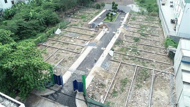 Phân lô bán nền trên đất quy hoạch đường xe lửa