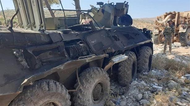 Một lính Nga thiệt mạng tại Al-Hasakah vì xe vấp mìn...