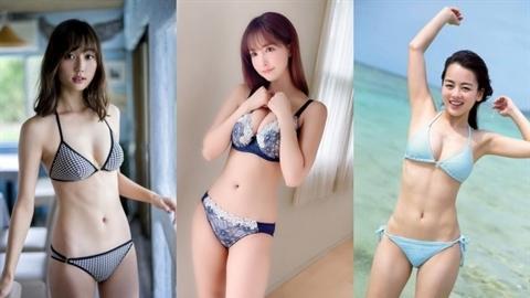 Top 3 mỹ nhân Nhật mặt ngây thơ thân hình bốc lửa