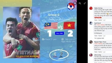 Cánh cửa mở rộng với đội tuyển bóng đá nam Việt Nam