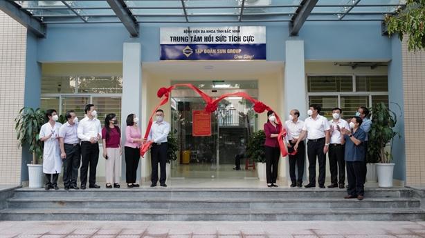Vận hành Trung tâm ICU 50 tỷ do Sun Group tài trợ