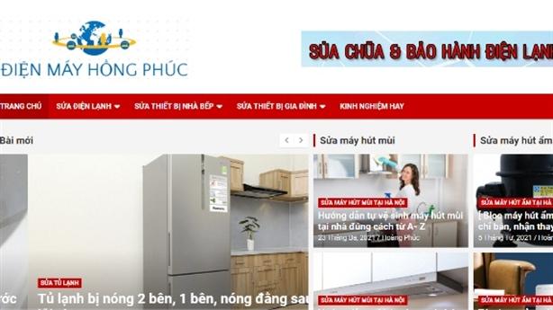 Điện Máy Hồng Phúc sửa chữa điện lạnh tại nhà Uy Tín