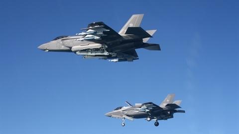 Ý lo F-35 gần biên giới Nga thành