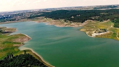 Các hồ chứa tại Crimea bỗng đầy ắp chỉ trong vài ngày