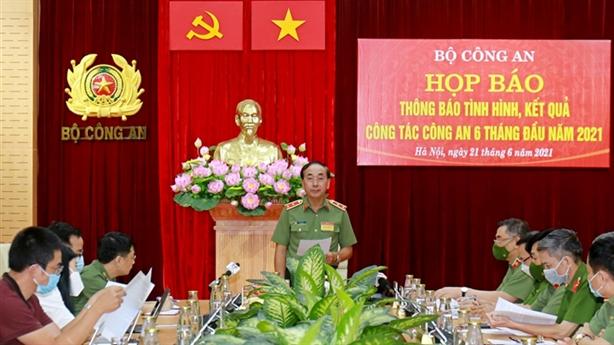 Bộ Công an thông tin vụ khởi tố ông Nguyễn Duy Linh