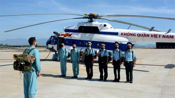 Không quân Việt Nam diễn tập