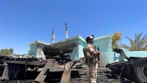 Bị vây công tại Iraq và Syria, Mỹ