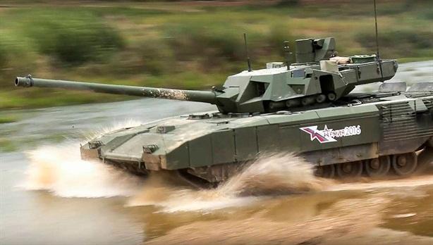 AI giúp Armata tấn công chính xác như súng bắn tỉa
