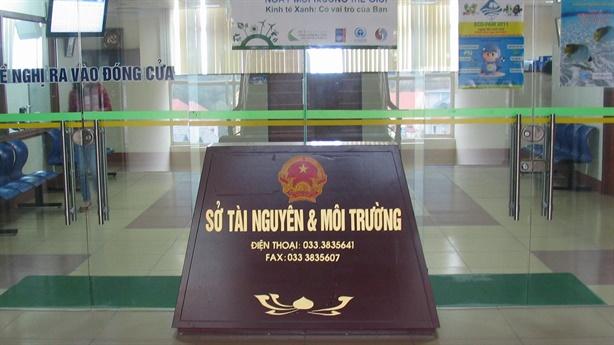 Vì sao hai PGĐ Sở TN-MT Quảng Ninh bị kỷ luật?