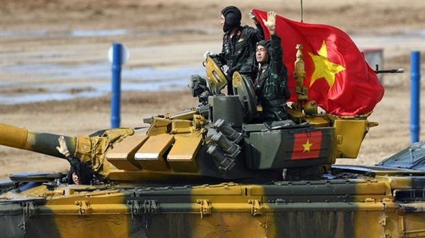 Tuyển tăng Việt Nam cùng bảng với Nga tại Tank Biathlon 2021
