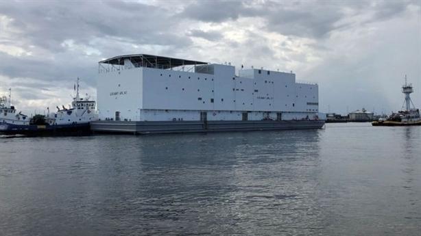 Mỹ gây bất ngờ với chiếc tàu khổng lồ không động cơ