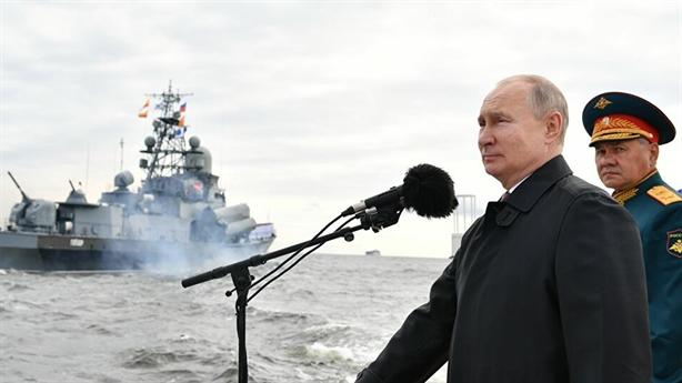 Ông Putin ca ngợi Hải quân Nga:Không hạ cờ trước kẻ thù