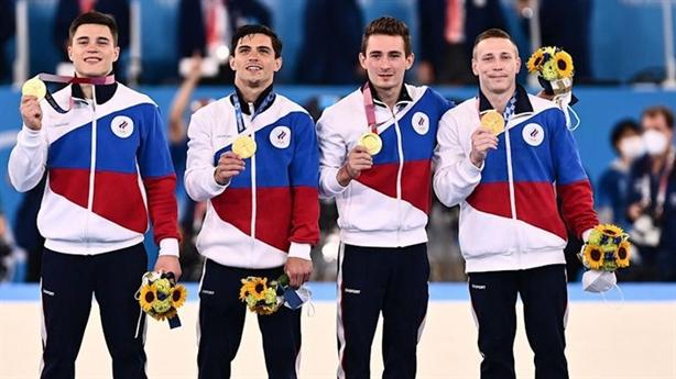 Nga có huy chương Olympic Tokyo bất chấp án phạt