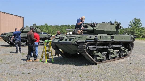 Mỹ thử tăng robot cực mạnh M5 Ripsaw