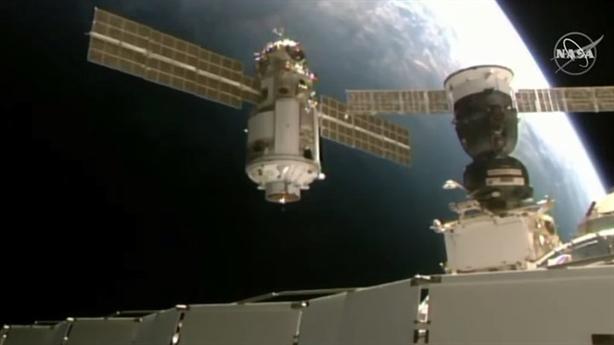 Nga thay module trên Trạm ISS, NASA báo có sự cố