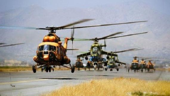 Mỹ mở đường cho trực thăng Nga đến Afghanistan?