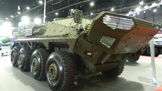 Thái Lan sản xuất xe bọc thép đắt ngang T-90