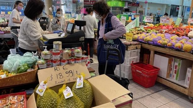 Nông sản Việt tấp nập vào thị trường Úc