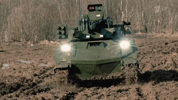 Robot Nga được tung hô sau tập trận Zapad-2021