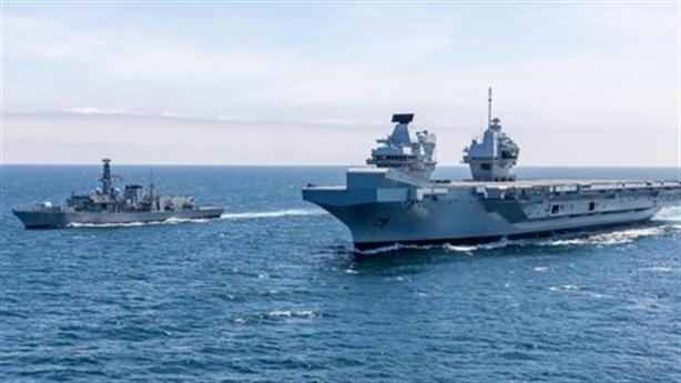 Anh nhầm khi nói HMS Prince of Wales đối mặt với...tàu Nga?